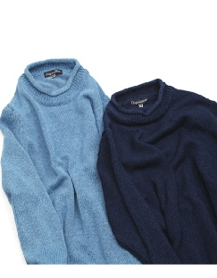 the weekender sweater-indigo